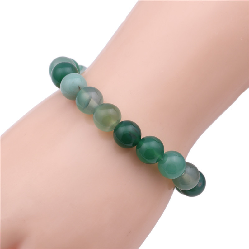 Alloy Fashion Geometric bracelet  (green) NHYL0357-green