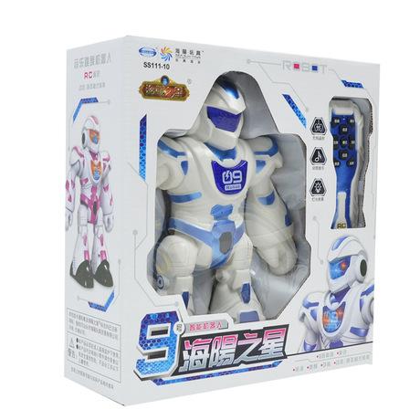 Haiyang Star Electric điều khiển từ xa robot nhảy Câu đố đồ chơi trẻ em Giáo dục robot giáo dục sớm thông minh Mô hình robot