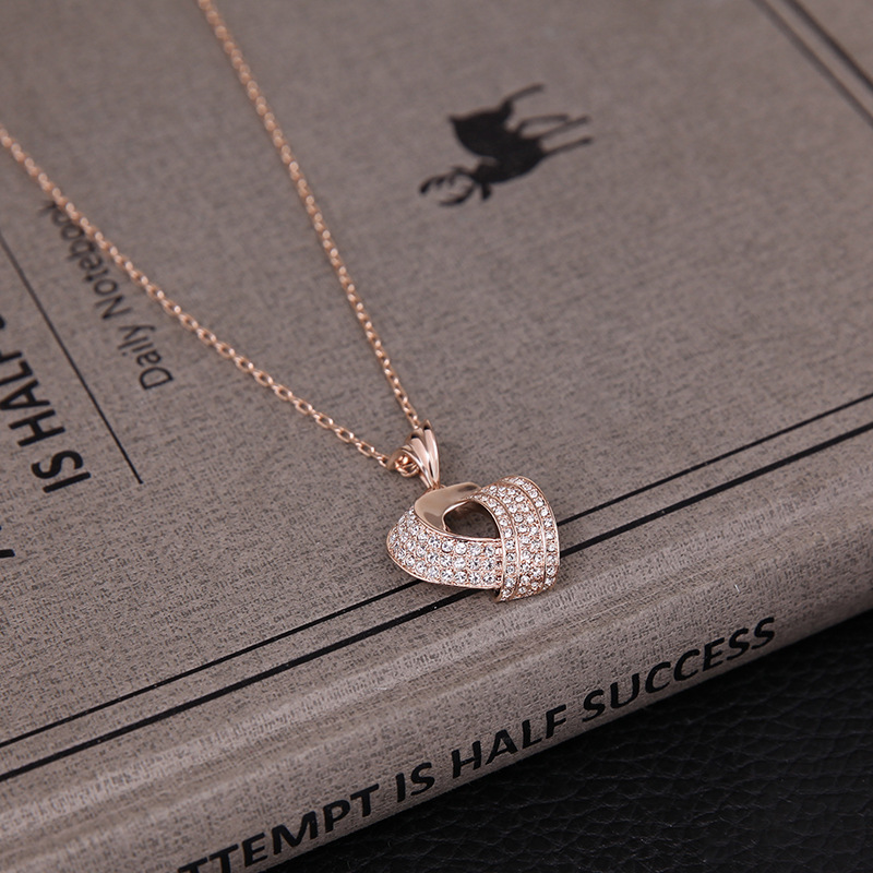 Alloy Fashionnecklace(Rose gold) NHXS1526-Rose gold