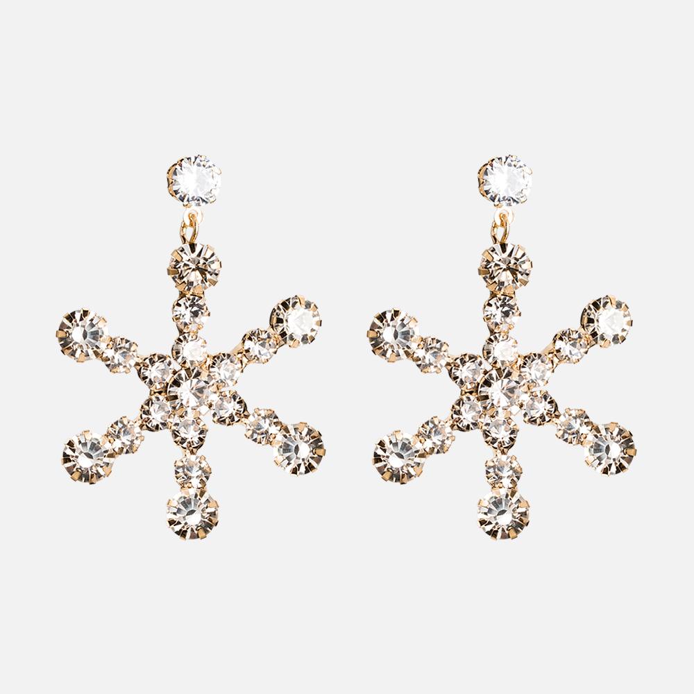 Copper Korea Geometric earring  Alloy  Fine Jewelry NHYT1488Alloy