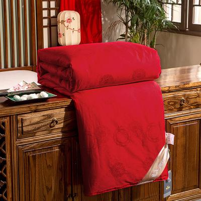 3+5斤子母被 纯蚕丝被批发 光胎+纱布套+被套+包装+运费 邵氏