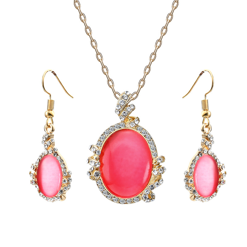 Alloy Korea  necklace  (61172389 red) NHXS1772-61172389-red
