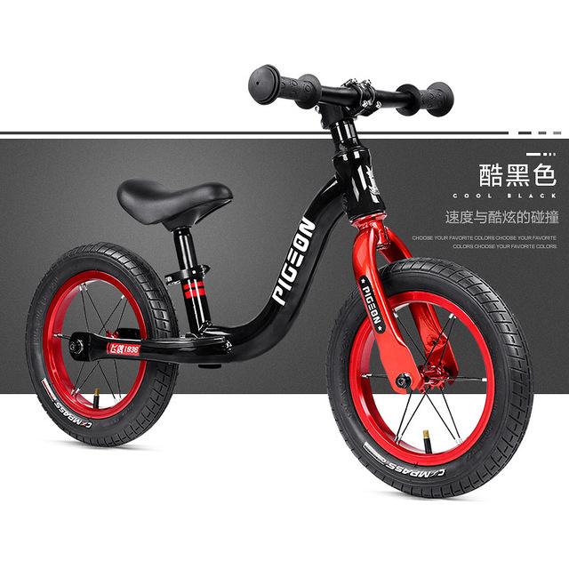 Chim bồ câu bay cân bằng xe không cần đạp 2-6 tuổi Xe tay ga trẻ em Xe yo trượt bước đi bộ Xe đạp