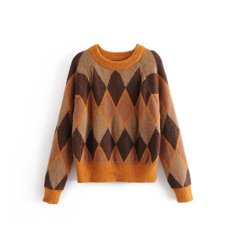 Polyester Fashion  Sweater  (Picture color - L) NHAM6726-Picture-color-L
