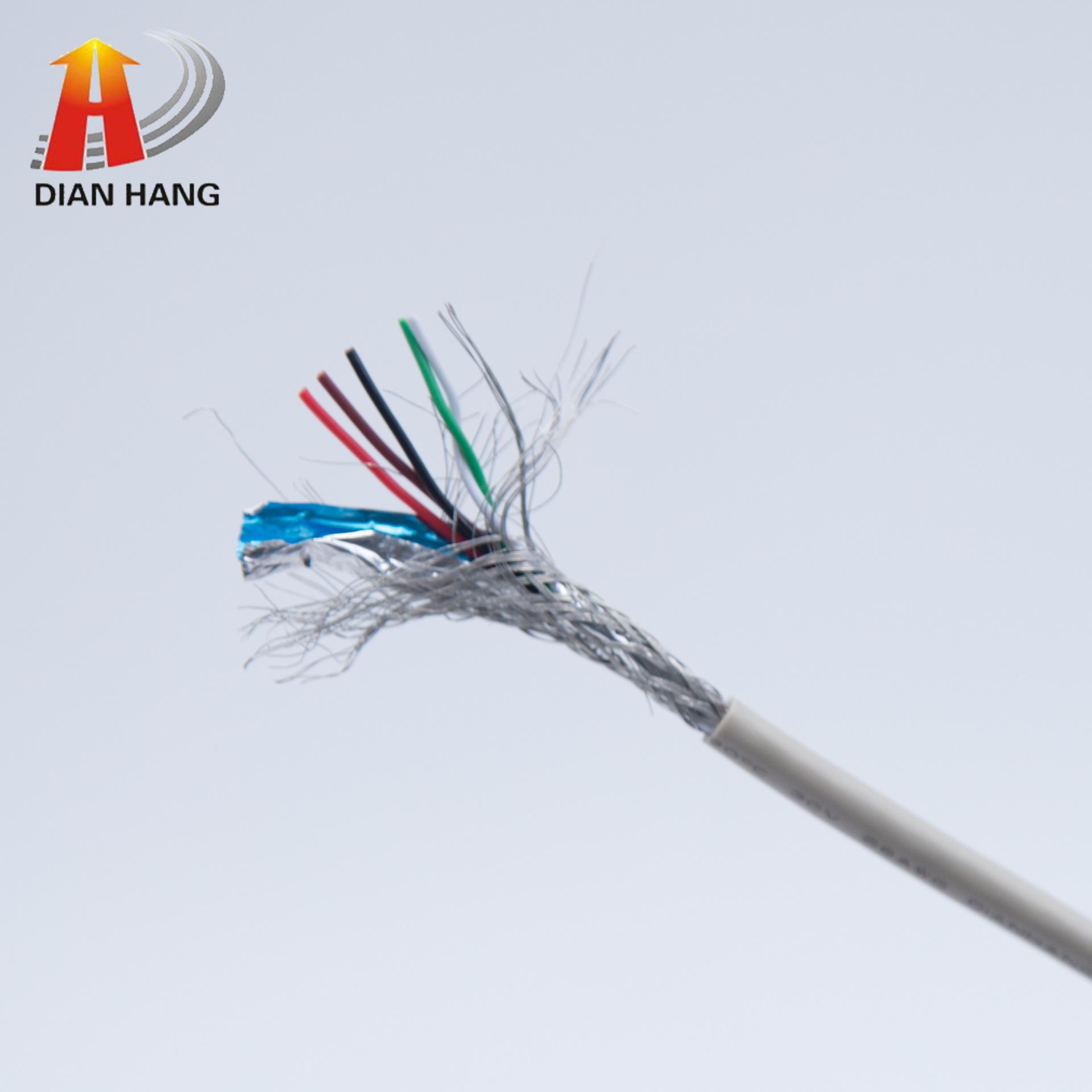 電航UL1185電子線 電腦變壓器用線 美標PVC絕緣單芯屏蔽電線