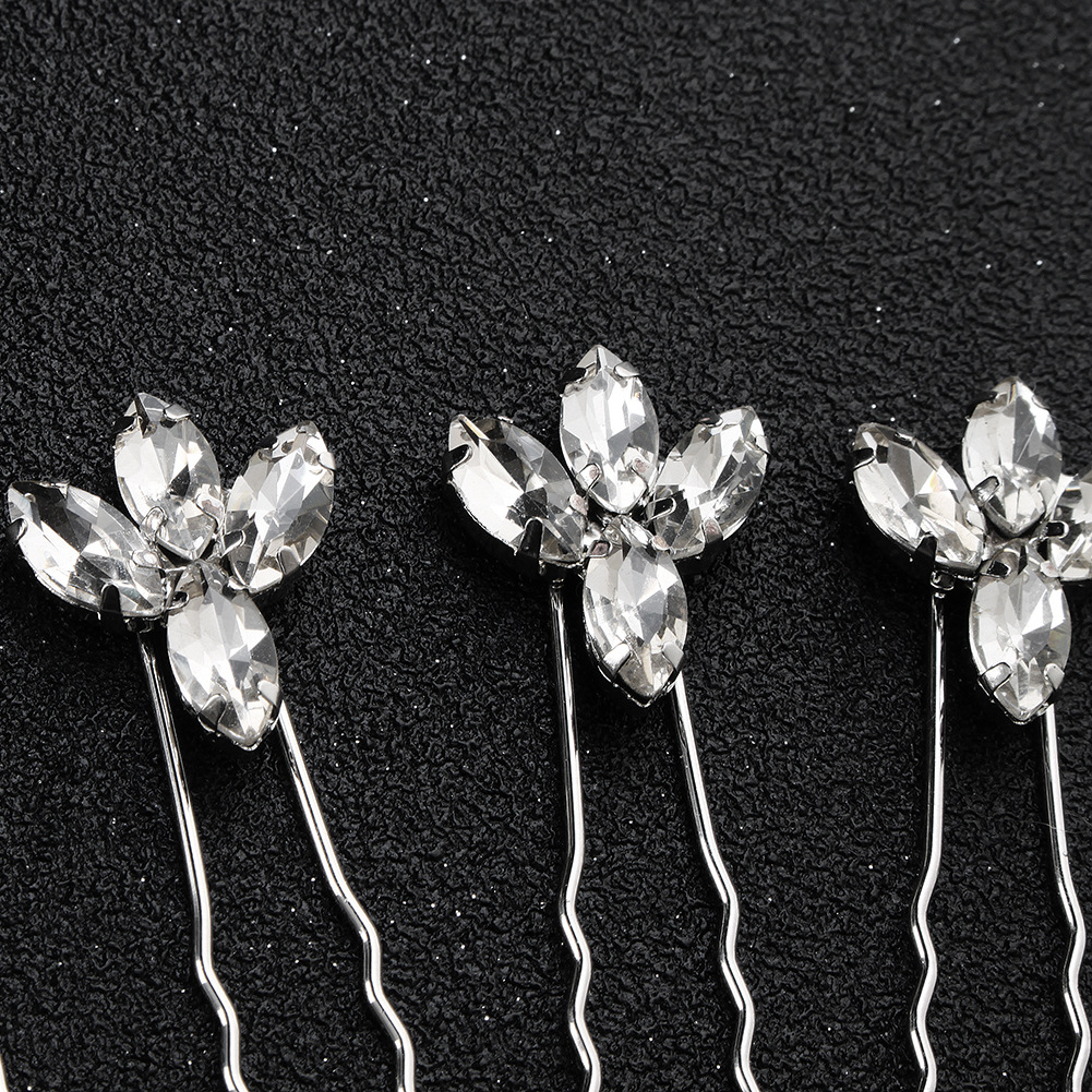 Imitated crystalCZ Fashion Geometric Hair accessories  Alloy NHHS0420Alloy