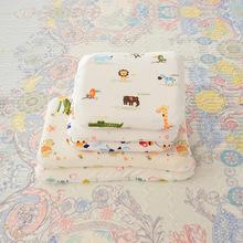 泰国婴儿乳胶枕头卡通款全棉宝宝头型定型乳胶枕芯厂家直销代发