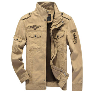 2021 Amazon foreign trade men's jacket casual special forces military uniform large size flight suit outdoor sports tooling outside