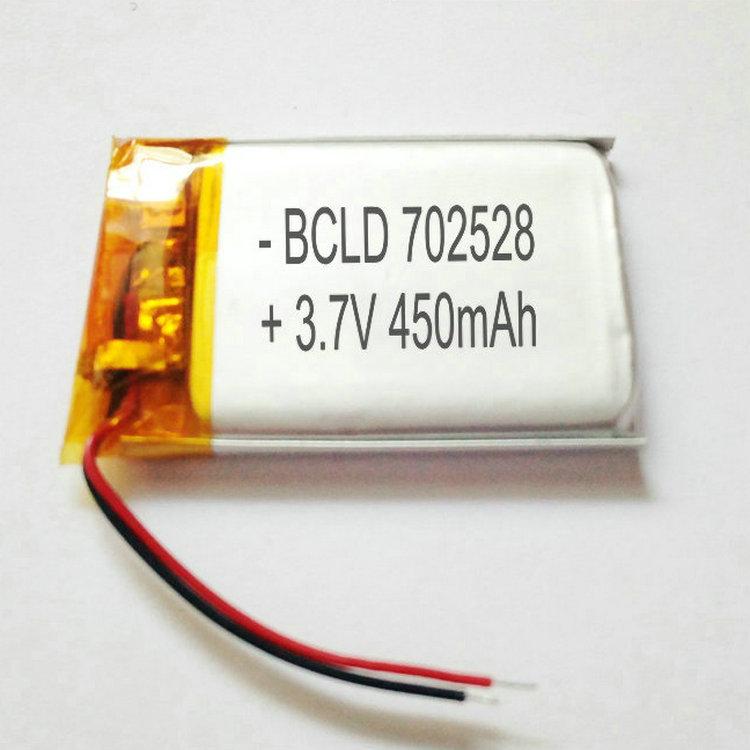 聚合物锂电池3.7V7.4V11.1V702528450mah18650锂电池组耐高温电池