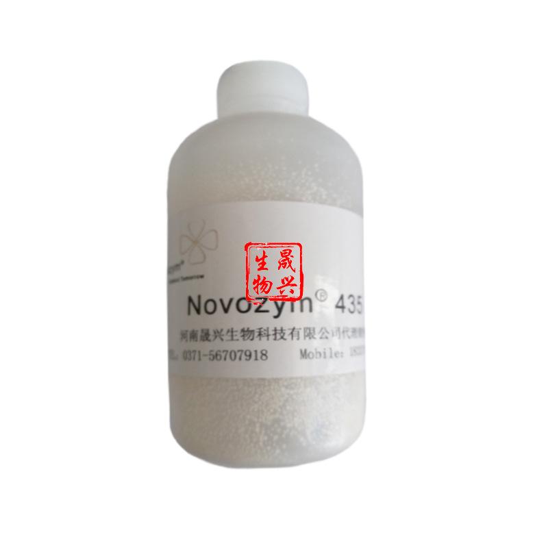 代理诺维信脂肪酶 novozym435 固定化脂肪酶435 质量保证 10g起订