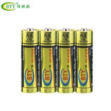 厂家直销BTY保碱性碳性干电池5号7号一次性环遥控器玩具电池