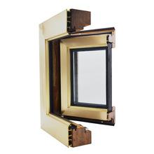 T-86铜包木门窗 仿铜门窗 高档门窗 别墅门窗 墨山门窗