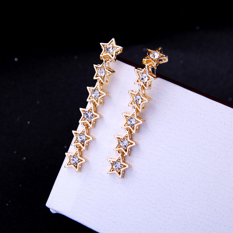 Alloy Fashion Geometric earring(Photo Color) NHQD5081-Photo Color