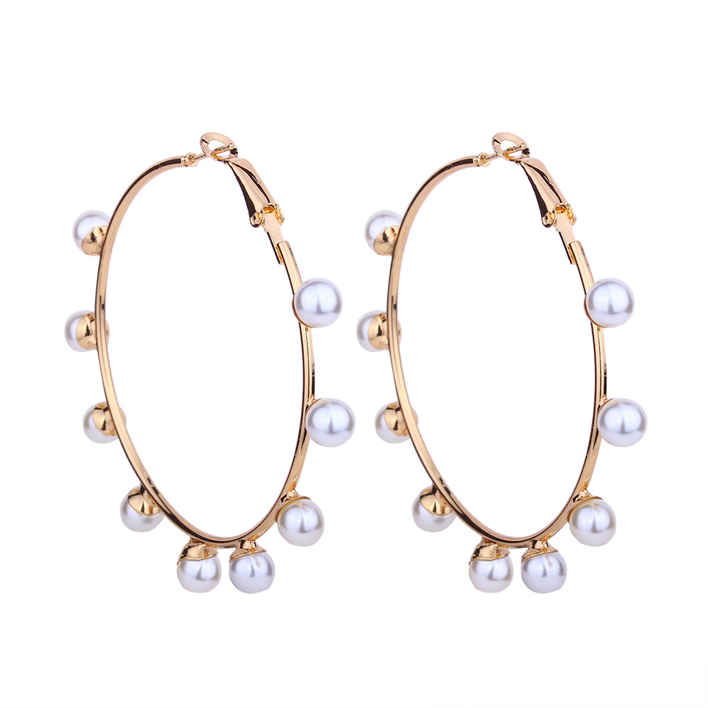 Fashion Alloy earring Geometric NHNMD4159-Alloy