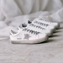 小脏鞋女2018新款 百搭 韩版做旧复古学生平底单鞋圆头系带脏脏鞋