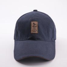2019新款男士帽子韓版潮流棒球帽戶外休閑保暖帽刺繡圖片鴨舌帽