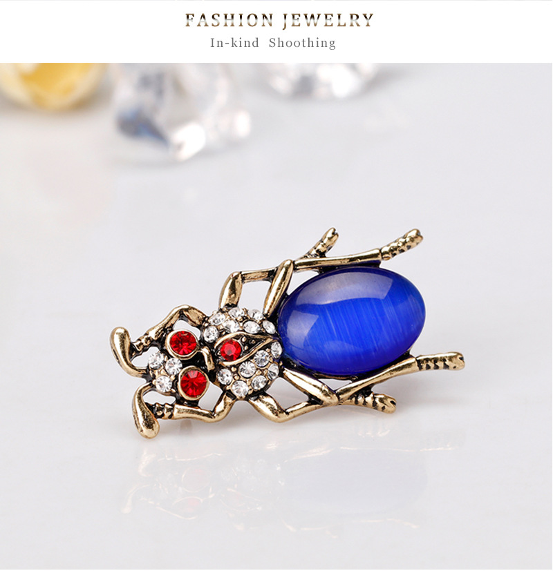 Alloy Fashion Flowers brooch  (AL244-A) NHDR2636-AL244-A
