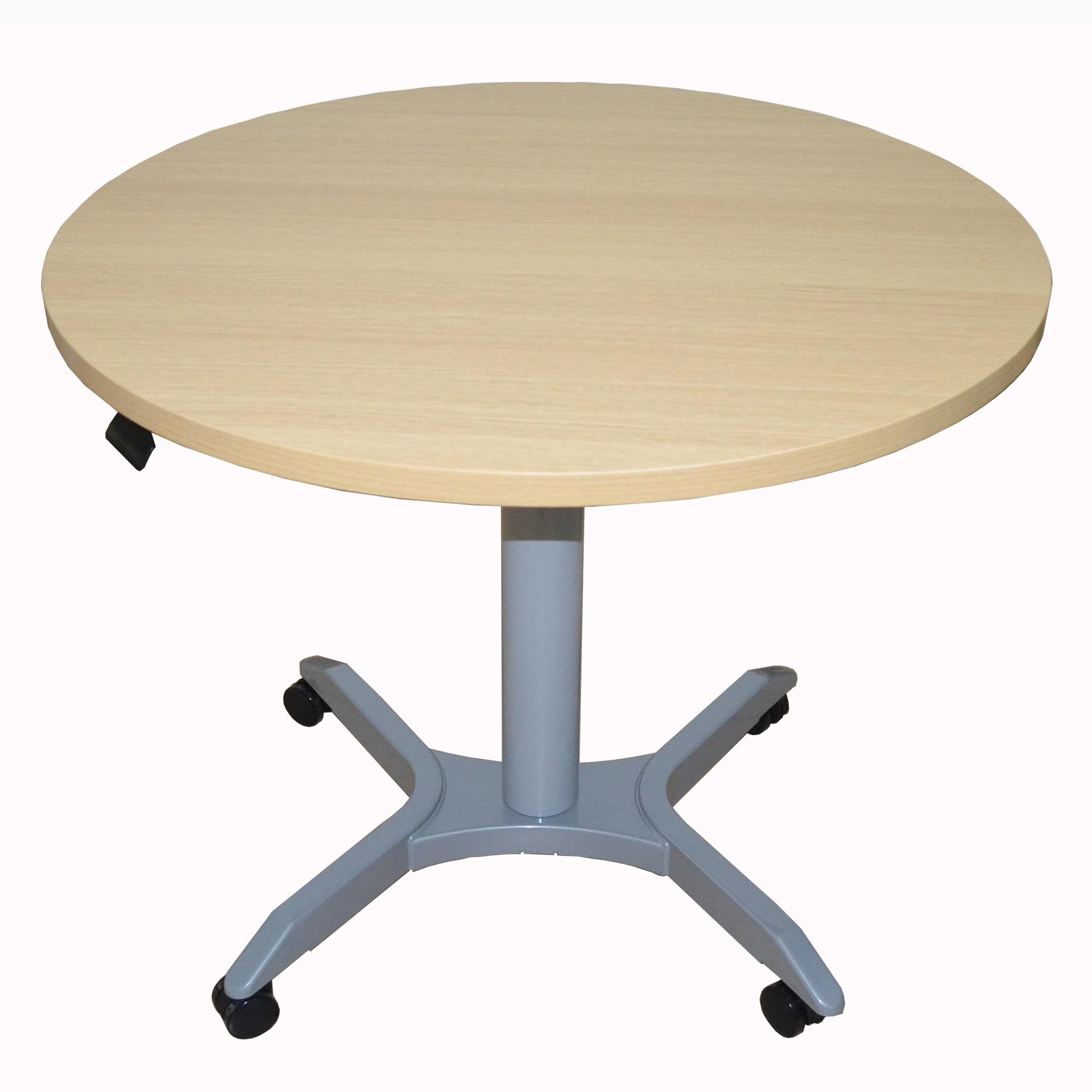 氣缸升降電腦桌 升降學生學習桌 可自由上升下降式單腳自由升降桌
