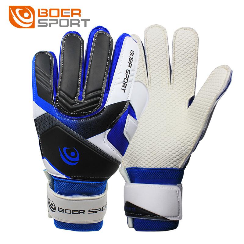 波尔青少年足球比赛用守门员手套 门将手套 训练手套 专业足球手