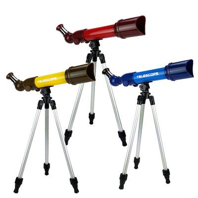 跨境儿童科学实验高清天文望远镜玩具6岁以上学生探索益智望远镜