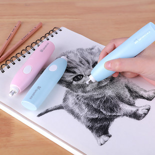Astronomical electric eraser for primary school students painting high-gloss sketch art special automatic eraser wholesale 8306