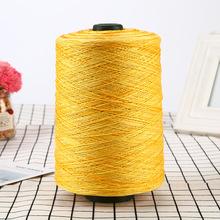 32S/2*5長絨棉紗線手套燒毛絲光線鉤編蕾絲繡花線服裝用紗批發