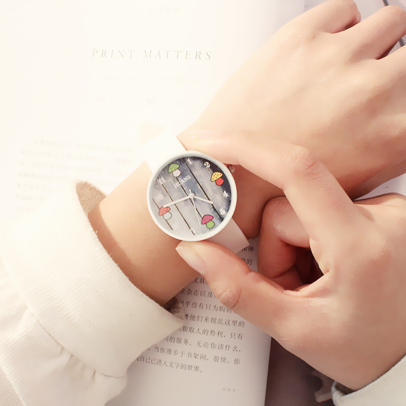 Alloy FashionStudent watch(white) NHCN0116-white
