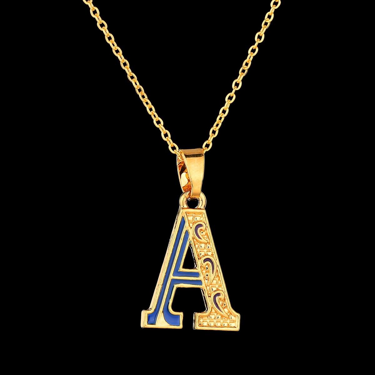 Alloy Fashion Geometric necklace(A) NHBQ1492-A