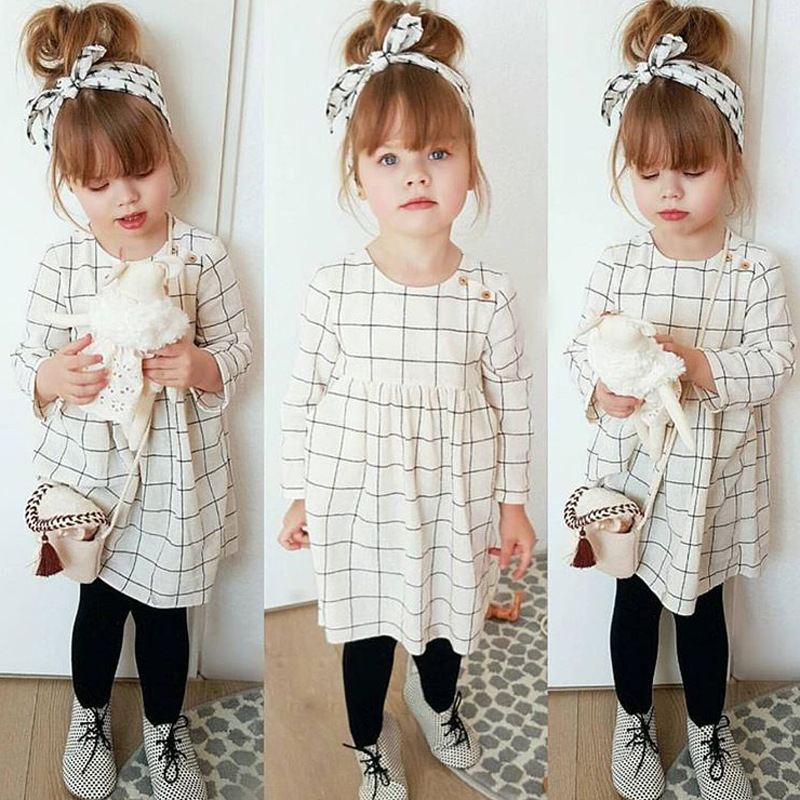 Princess Dresses for Girls,Newborn Baby Girl Summer Outfit Clothes Princess Dress+Plaid Pants Shorts Set,Baby Boys Clothing /& Shoes,White,90