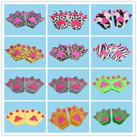 Cos show animals перчатки Аксессуары для головных уборов перчатки Тигр лягушка крыса серый волк лиса рука