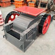 厂家供应 小型对辊破碎机、双辊式破碎机、对辊挤压制砂机对辊破