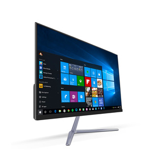 23.8 inch all-in-one computer complete machine micro-frame high-definition large screen quad-core home office factory direct sales OEM