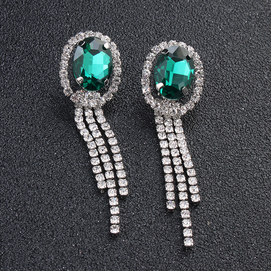 High-end earrings necklace wedding accessories NHHS144917