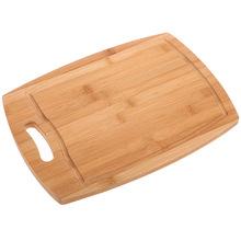 生产厂家 竹制菜板 碳化手提挖水槽工艺砧板 天然竹制品