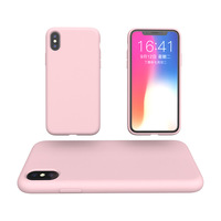 Liquid silica gel mobile phone shell For iPhone xs iPhone xr