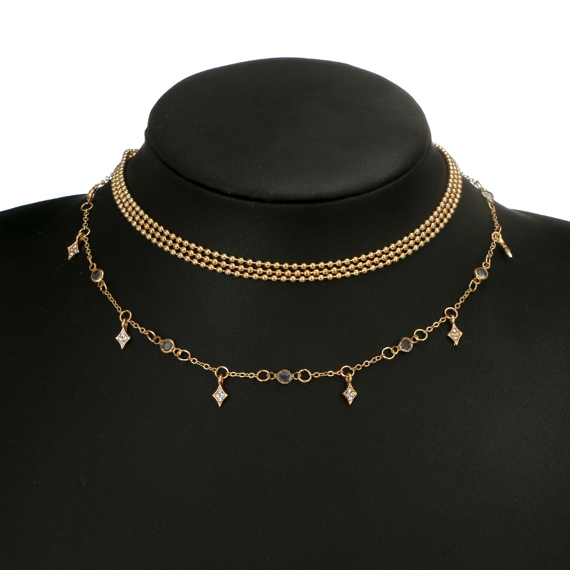 Alloy Simple Geometric necklace  Alloy NHGY2650Alloy