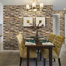 现货批发青砖墙贴砖纹木纹整张房间墙面电视桌子复古时尚中式岩纹