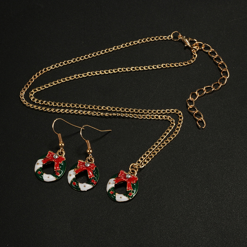 Alloy Fashion Geometric necklace(Gold) NHGY2569-Gold
