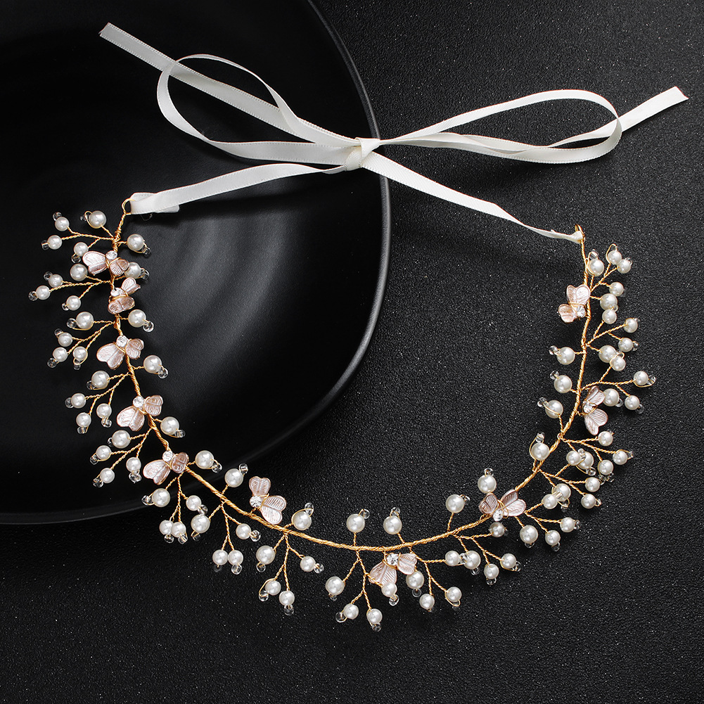 Alloy Fashion Flowers Hair accessories  (Alloy) NHHS0523-Alloy