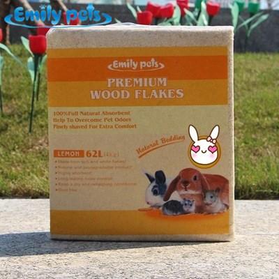 艾米丽仓鼠 兔子龙猫豚鼠木屑 垫料 材 强吸水 环保天然松木屑