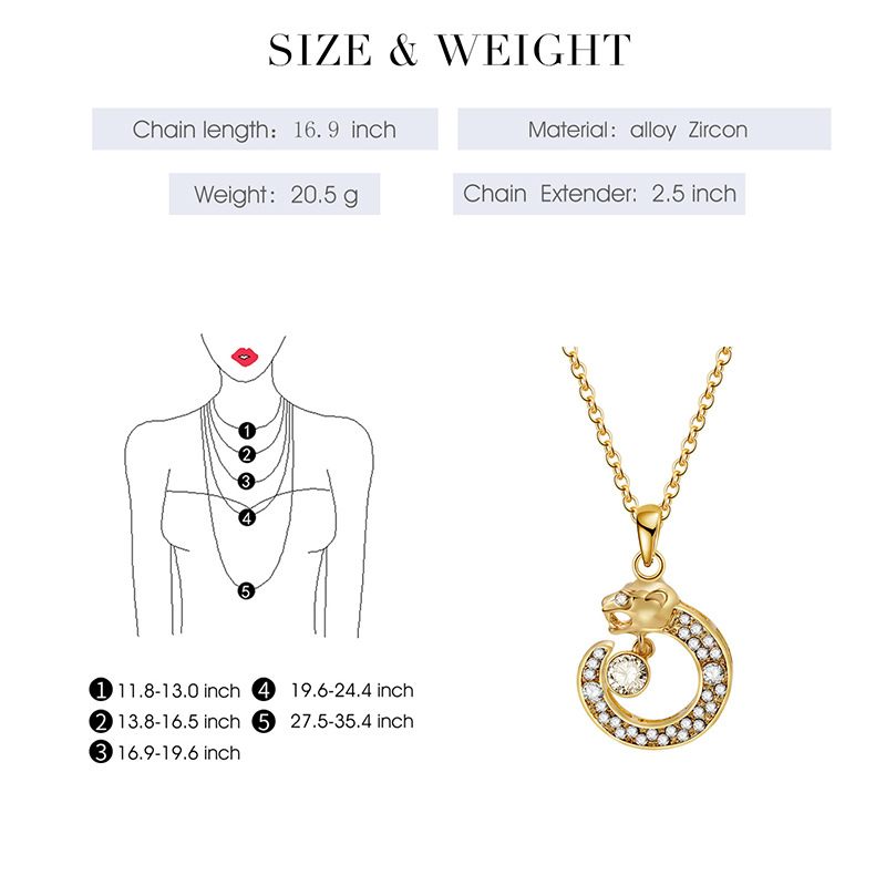 Alloy Korea  necklace  (61172465 alloy) NHXS1698-61172465-alloy