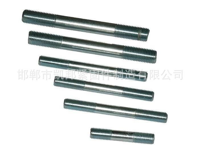 厂家批发 热镀锌双头螺栓 M20*400热镀锌双头螺丝 电力双头螺柱