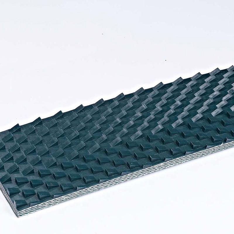 BCTRech pvc正反三角输送带 工业耐高温木工业输送带 可接驳