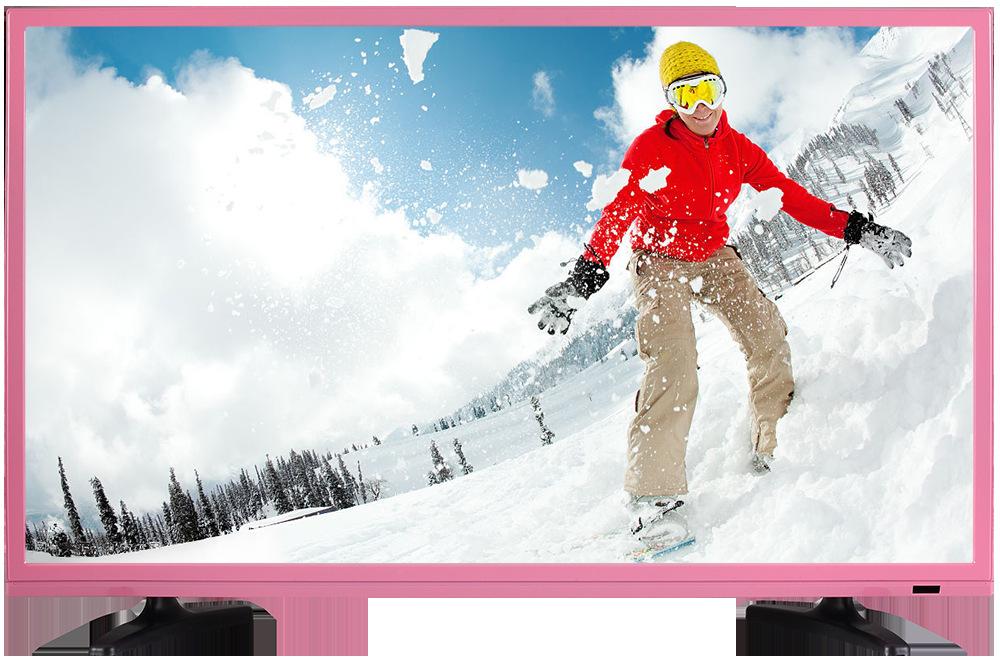 厂家供应 48D-有机玻璃镀络座-金边框 15.6-65 寸LED 液晶电视