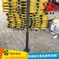 临边安全防护栏 防护栏立杆  批量销售 建筑弯头 楼梯立杆弯头 欢迎致电