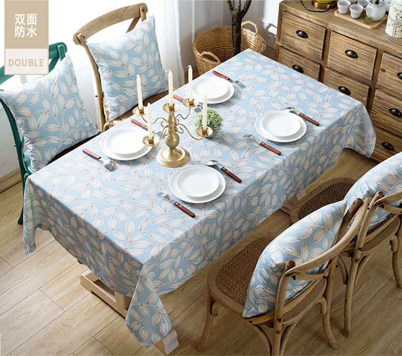 Fashion waterproof printed tablecloth kitchen living room multi types NHSP134595