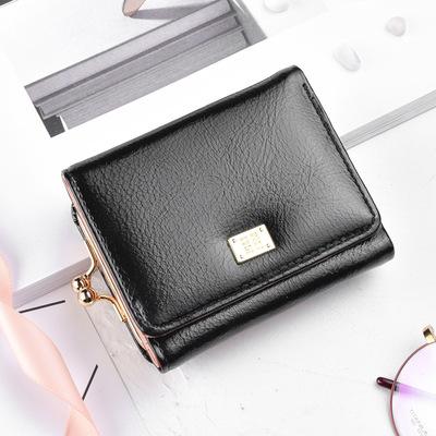 Cross-biên giới cho các ví nhỏ nữ đoạn ngắn Hàn Quốc phiên bản của đơn giản nhỏ tươi gấp ví sinh viên khóa purse