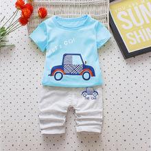 2019夏款兒童套裝童裝夏裝寶寶男女童套裝嬰幼兒衣服1-2-3-4歲