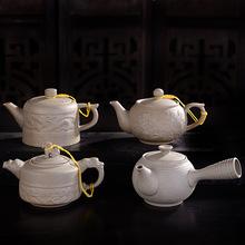 复古粗陶单壶创意功夫茶具泡茶壶批发不上釉老岩泥陶土茶壶