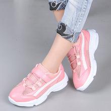 儿童运动鞋韩版夏季新款网布透气男童板鞋软底镂空女童休闲鞋